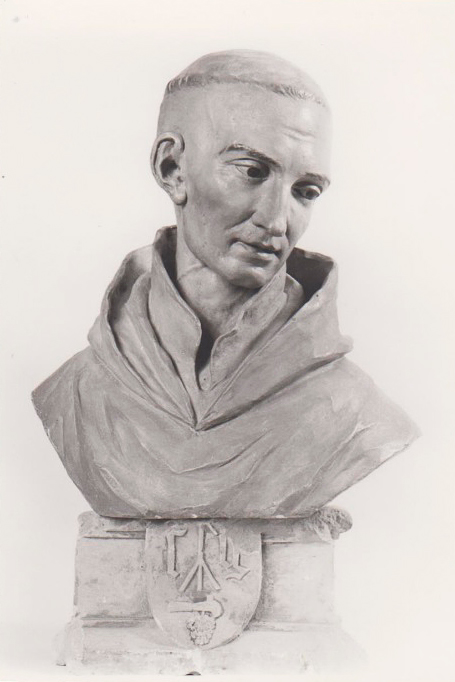 Buste de saint bernard pos sur le socle gruet xviie for Espace famille fontaine les dijon