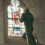 Restauration des vitraux de l'église Saint Bernard
