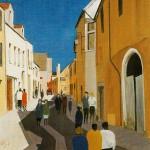 Rue des Templiers par J.F. Devalière (1998)