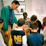 Exposition sur l'archéologie à la bibliothèque municipale de Fontaine (2000)