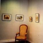Exposition « Les maisons de maîtres à Fontaine », par Nicole Lamaille à la bibliothèque municipale en 2008.