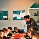 Origami: Les grenouilles à la bibliothèque municipale de Fontaine (2004)