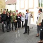 Le site Saint-Bernard présenté à l'Association des Villes de France. Septembre 2012.
