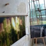 Exposition itinéraire : Denise Guilloux à l'orangerie de la Charmille.