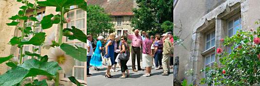 Les Amis du Vieux Fontaine à Flavigny-sur-Ozerain (juin 2014)