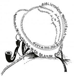 La Grande Guerre (calligramme de Nicole Lamaille)