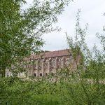La bibliothèque du XVème siècle en brique.