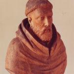 Buste de saint Bernard XVIIe
