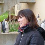 Claudine Speranza et ses pingouins ( Cliché S. Pavèse).