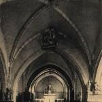 Ex-voto d'un bateau dans l'église Saint-Bernard
