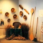 Exposition sur les fours à pain, à la bibliothèque municipale en 1999.
