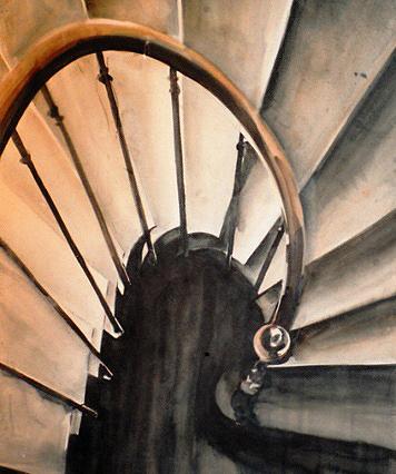 La maison natale de saint Bernard vue par Micheline Reboulleau, Galerie La Source, 2003.