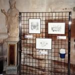 La vigne dans l'église de Fontaine, par Nicolle Lamaille. Église Saint-Bernard, 2008.
