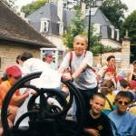Jumelage d'une école alsacienne avec celle des Porte-feuilles (1999)