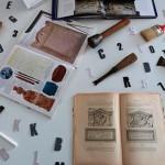 Exposition sur l'épigraphie à la bibliothèque municipale de Fontaine-lès-Dijon.
